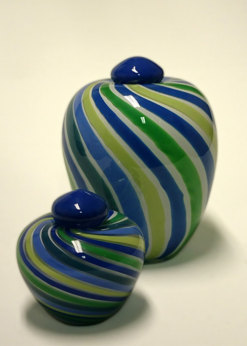 Maja glazen urn